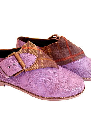 purple Lauro Righi shoes