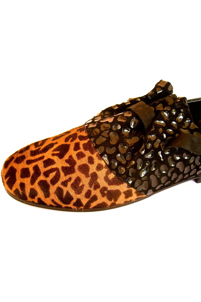 black Lauro Righi shoes - orange - brown