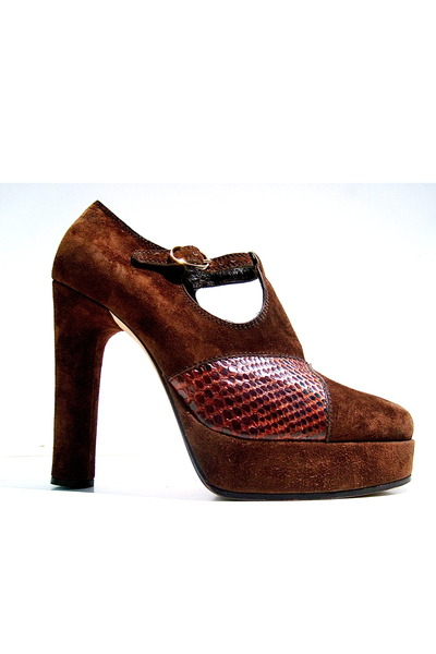 dark brown Lauro Righi shoes