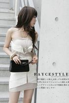 beige dress