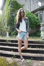 Aritzia-blazer-gap-shirt-american-eagle-shorts-aldo-sandals