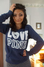 Blue-victorias-secret-pink-sweater