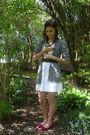 White-walmart-dress-silver-kingdom-wear-accessories-green-claires-accessorie