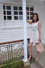 Cream-forever-21-dress