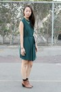 Green-gems-forever-21-necklace-burnt-orange-ross-boots-green-unknown-dress