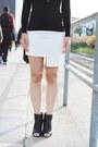 Black-peep-toe-shoes-dark-brown-tweed-ralph-lauren-coat-white-tote-h-m-bag