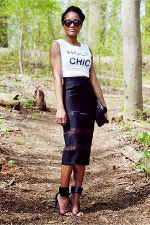 black French Connection skirt