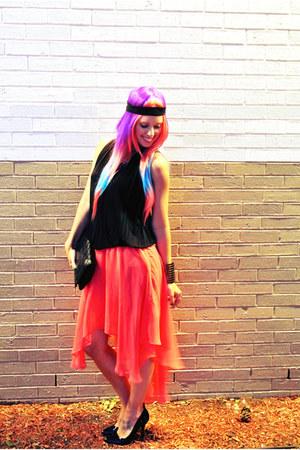 Akira skirt - draped top BCBG top