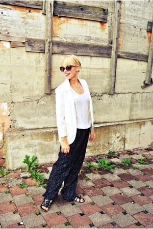 white PersunMal blazer