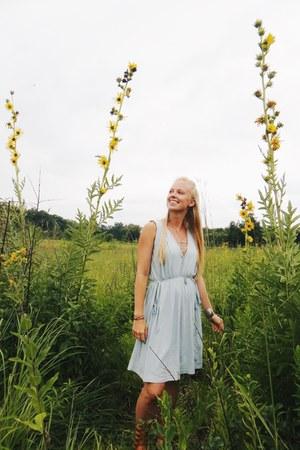 light blue julia Synergy Organic Clothing dress