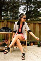 H&M blazer - H&M blouse
