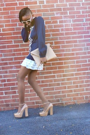 Forever 21 dress - zeroUV sunglasses - 6pm heels