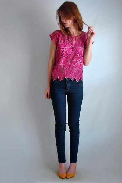 pink Bali Moon shirt