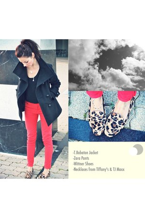 T Babaton jacket - Zara pants - tiffanys necklace - Wittner loafers