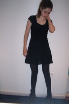Urban Outfitters t-shirt - H&M dress - Secondhand shoes - H&M accessories