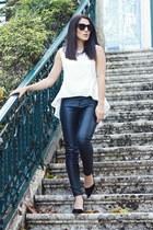 BangGood top - zeroUV sunglasses - Martofchina heels