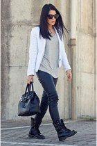 PERSUNMALL jacket - Chicwish boots - PERSUNMALL shirt - BangGood bag