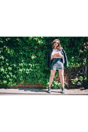 H&M skirt - Superdry t-shirt
