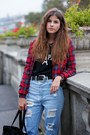 Black-team-paris-choies-sweater-sky-blue-high-waist-choies-jeans