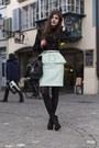 Black-trapeze-celina-bag-black-lace-zara-blouse-black-crystal-tally-heels