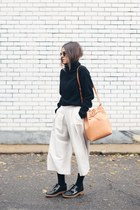 bronze bucket Mansur Gavriel bag - black Stylenanda sweater