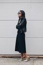Black-leather-biker-mango-jacket-periwinkle-oysho-sweater