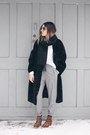 Brown-leopard-print-zara-boots-black-faux-fur-front-row-shop-coat