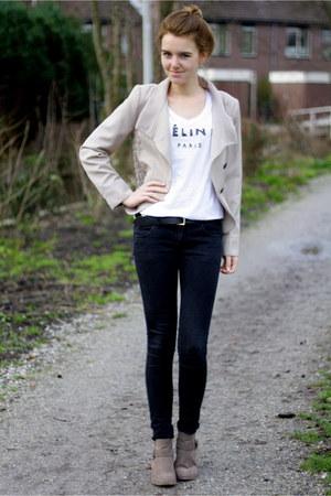 Zara blazer - DIY shirt