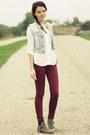 Tan-primark-boots-brick-red-burgundy-skinny-primark-jeans-blue-h-m-vest