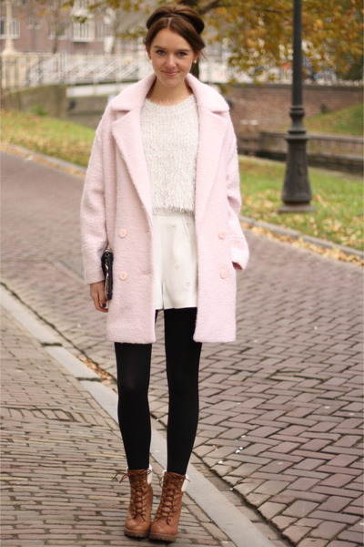 5ee6dd0a34af ivory Oasapcom sweater - burnt orange Primark boots · black H M boots - hot  pink ...