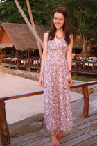 floral thailand dress