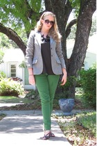 pants - Target blouse - thrifted blazer