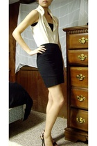 Urban Outfitters top - Urban Outfitters - Urban Outfitters skirt - Guess shoes