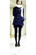 Hurley coat - Gap scarf - Urban Outfitters skirt - Uniqlo - ferragamo