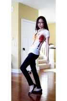 Urban Outfitters t-shirt - Delias jeans - Steve Madden shoes