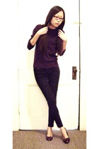 Forever 21 sweater - Delias jeans - Bandolino shoes