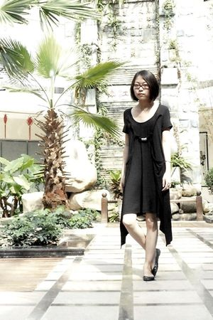 black La Pargay dress - black Aldo shoes