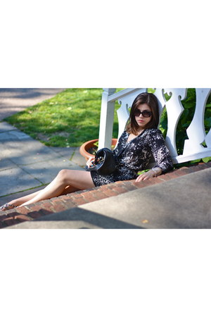 tory burch bracelet - Parker dress - Prada bag - Marc by Marc Jacobs sunglasses
