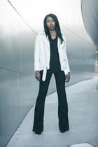 Blk Dnm jacket - Alexander Wang shoes - mih jeans - LA Made t-shirt