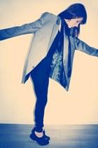 Paciotti shoes - manswear Ermenegldo zegna jacket - armani scarf