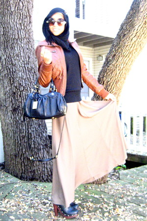Forever 21 skirt - Bakers shoes - Marc by Marc Jacobs bag