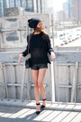 Black-alexander-wang-shoes-black-yesstyle-sweater-black-forever-21-shorts