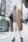 Tan-jnby-coat-maroon-alexander-wang-sweater-white-h-m-pants