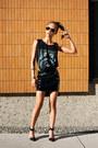 Black-liya-alexander-wang-shoes-black-h-m-divided-skirt