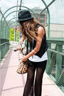 Black-vintage-pants-vintage-vest-black-zara-shoes-beige-alexander-wang-pur