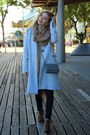 Brown-forever-21-boots-silver-stradivarius-coat-navy-mango-jeans