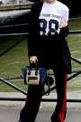 Black-shein-shoes-black-stradivarius-blazer-blue-celine-purse