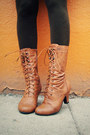 Dark-brown-tights-goodwill-tights-bronze-oxford-modcloth-boots