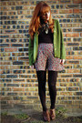 Dark-brown-oxfords-charlotte-russe-shoes-black-calvin-klein-tights