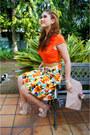 Camel-clutch-asos-bag-carrot-orange-floral-applique-h-m-top